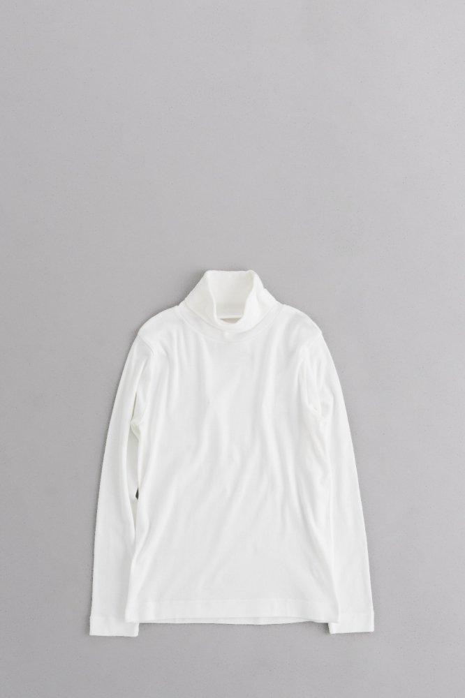 GRANDMA MAMA DAUGHTER ♀タートルネックカットソー (White)