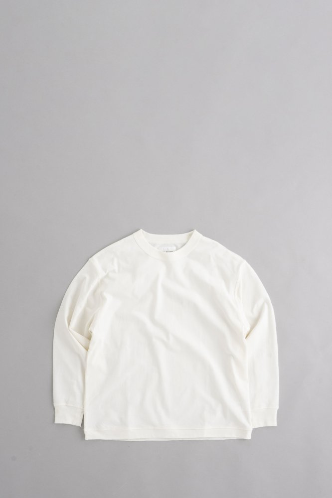 STILL BY HAND Crew Neck Pullover (Ecru)