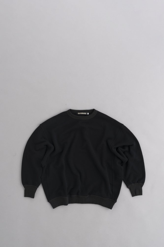 HAVERSACK Crew Neck Wide Pullover (Black)