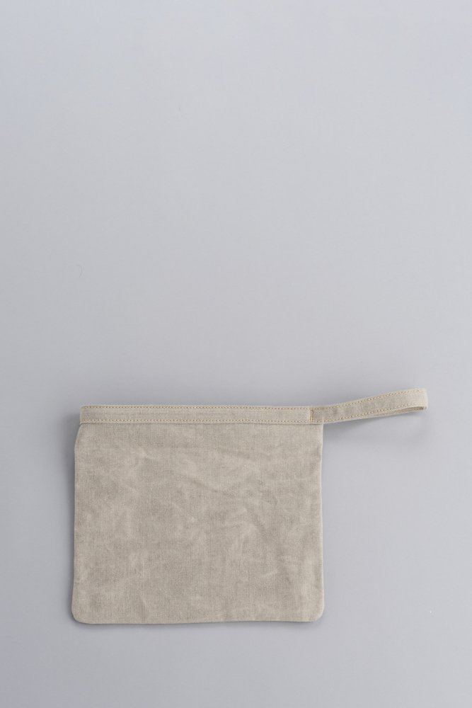 STUFF Basic Pouch 2 (Wash Natural)
