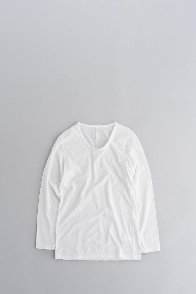 prit ♀U-Neck L/S (White)