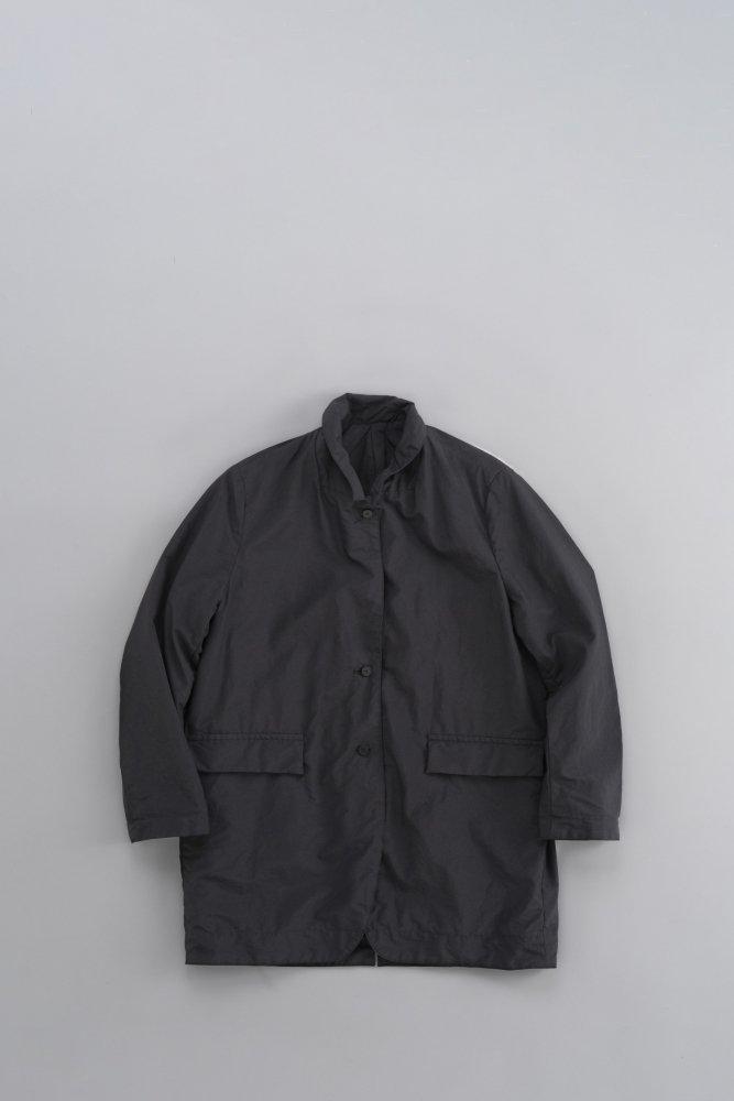 FIRMUM ナイロンタッサーポプリンリバーシブルジャケット (ブラック)