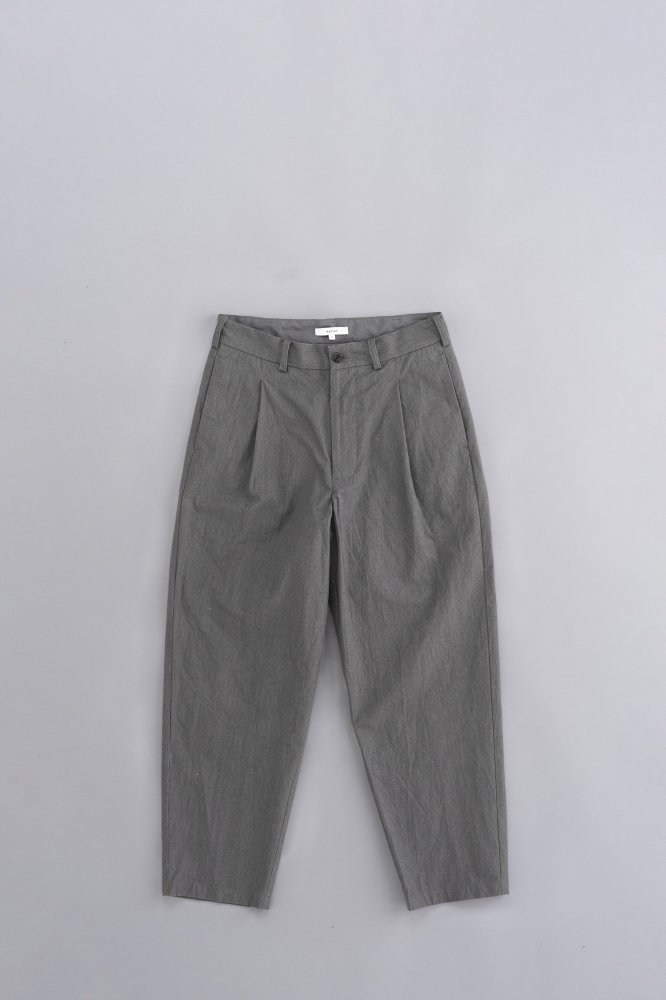Kontor PRINTED COTTON PANTS (GREY)