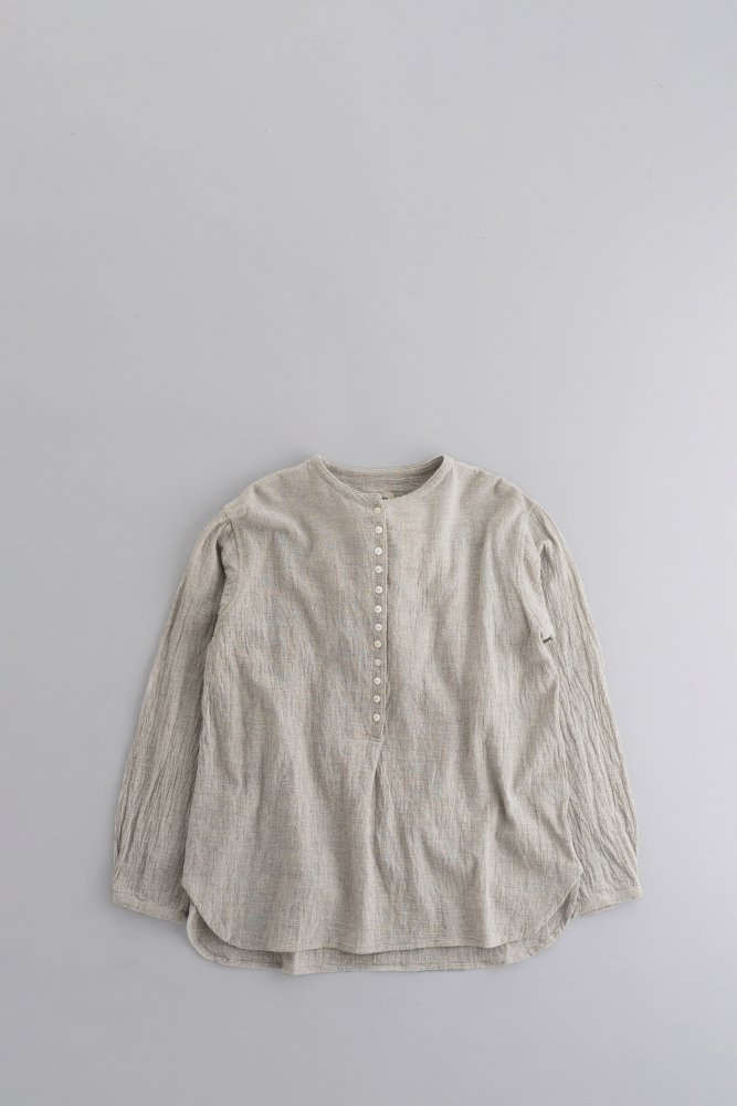 jujudhau ♀12BUTTON SHIRTS (WRINKLE LINEN)