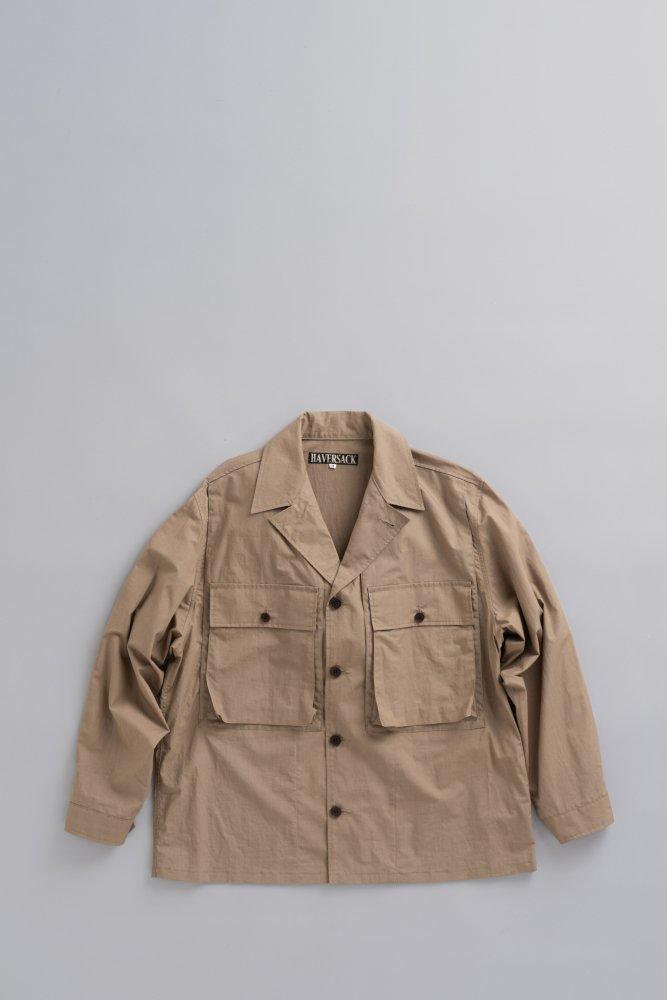 HAVERSACK C/L Shirt Jacket (Brown)