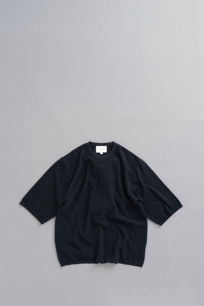 STILL BY HAND 6/10 Knit T (Black)