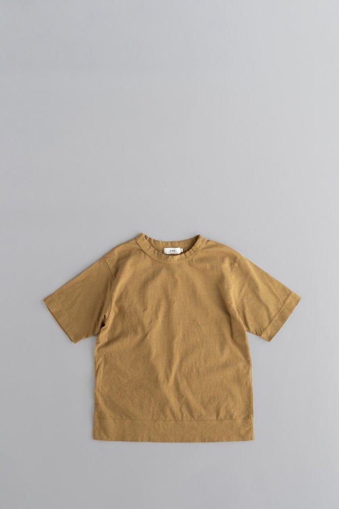 RINEN ♀Crew Neck T (Mustard)