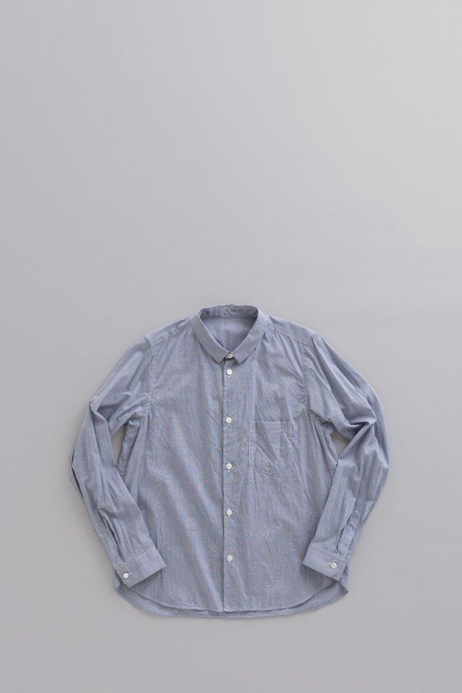 ゴーシュ ♀ブロード レギュラーカラーシャツ (ギンガム)