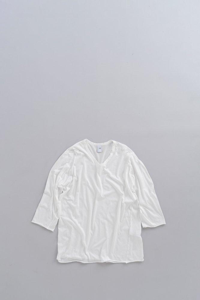 NO CONTROL AIR 120/2 王妃綿天竺 6分袖 T(オフホワイト)