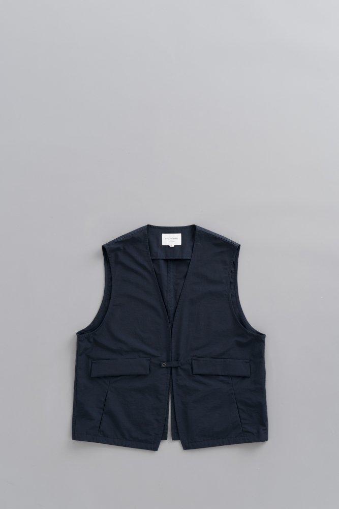 STILL BY HAND C/N Vest (Navy)