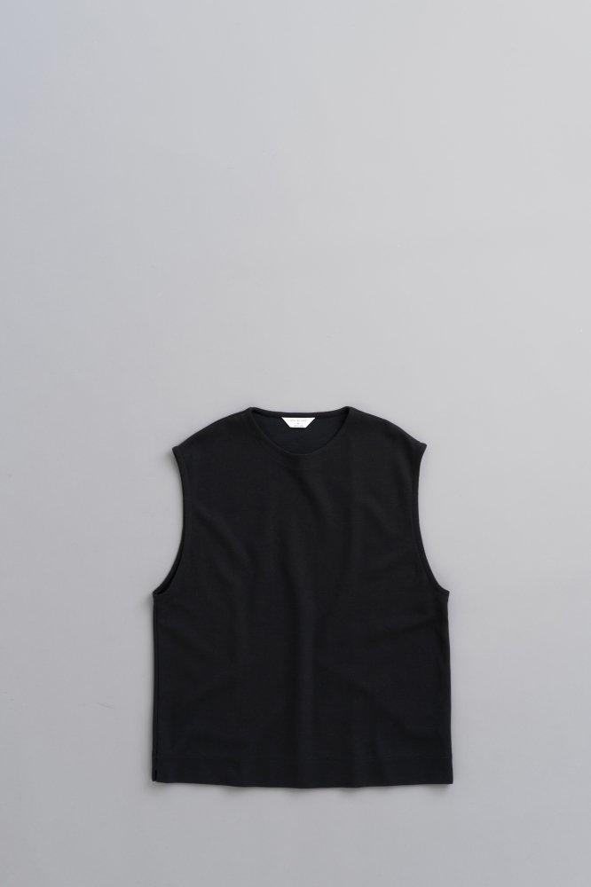 STILL BY HAND C/N Pullover Vest (Black)