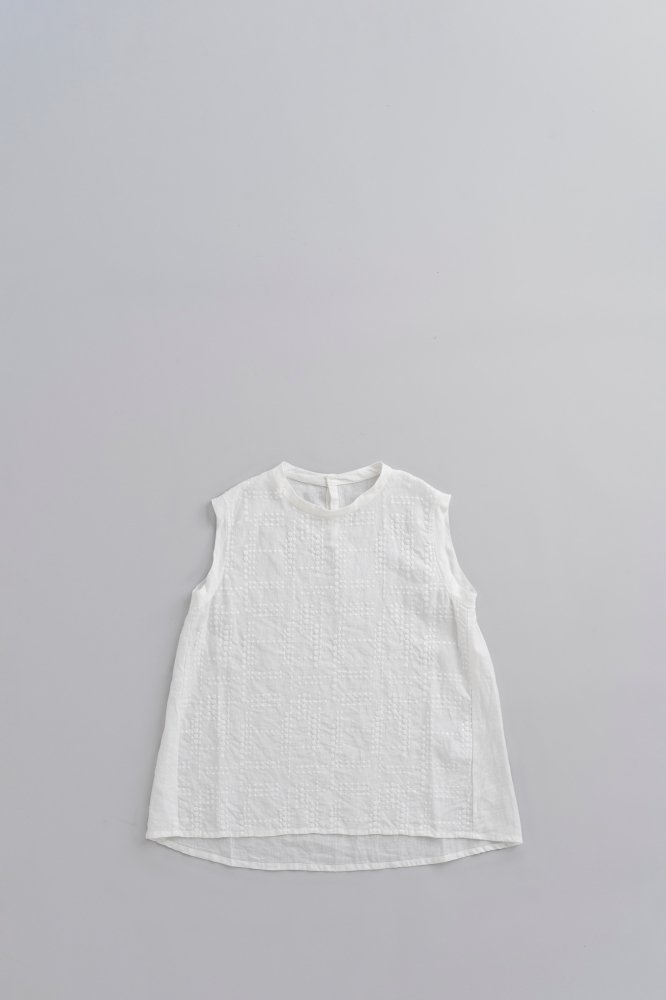 prit ♀No sleeve Stand Collar Flare Pullover