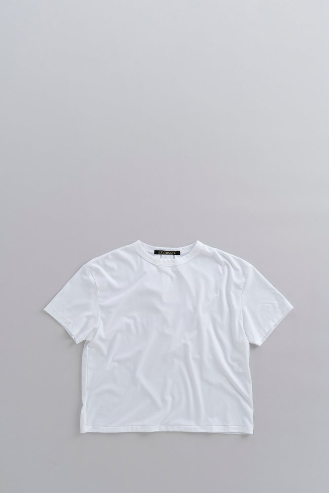 HAVERSACK ♀Back Tuck Wide T (White)