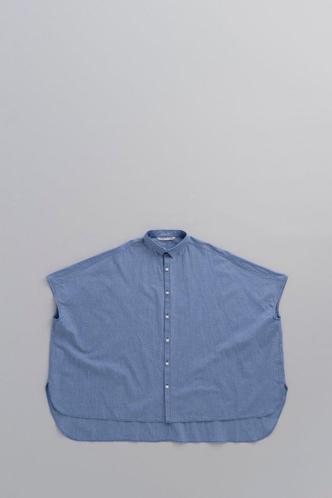 GRANDMA MAMA DAUGHTER ♀ケープシャツ (Blue)