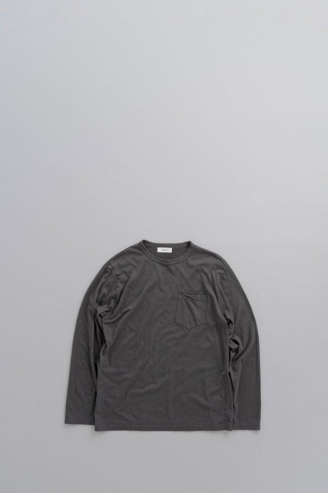 alvana CASHMER L/S TEE SHIRTS (TONE BLACK)