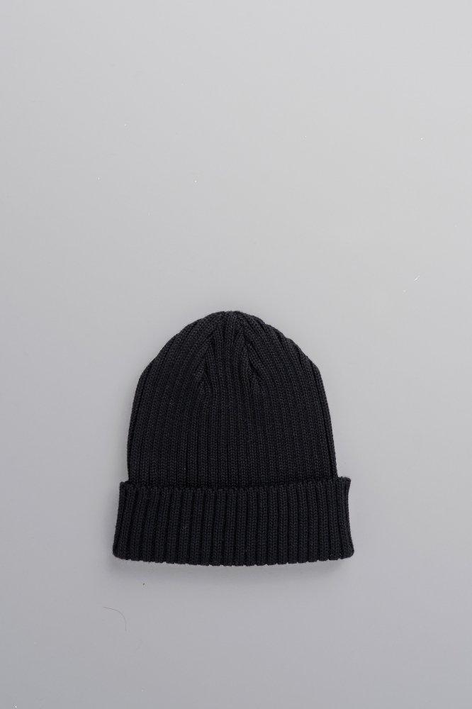 KIJIMA TAKAYUKI Wool Watch Cap (Black)