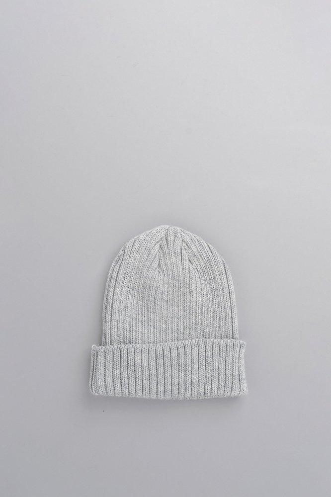 KIJIMA TAKAYUKI Wool Watch Cap (LT.Gray)