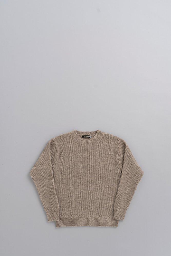 HAVERSACK 12G Pullover Knit (Off Beige)