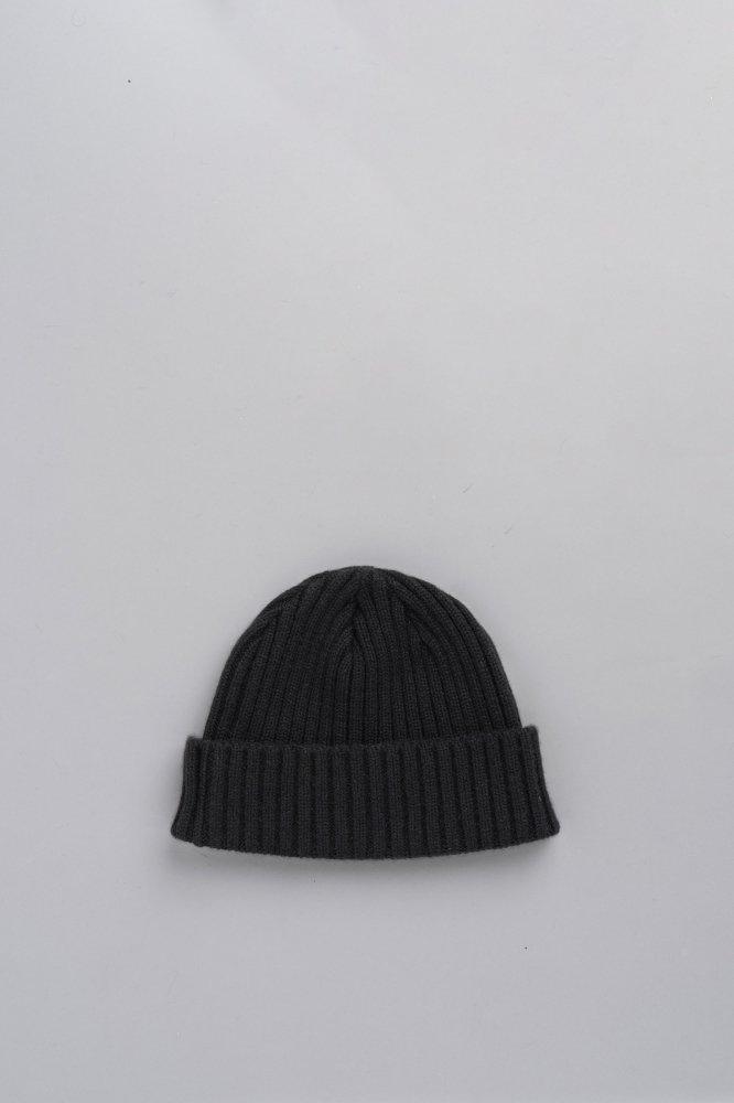 KIJIMA TAKAYUKI Cashmere Knit Watch Cap (Black)