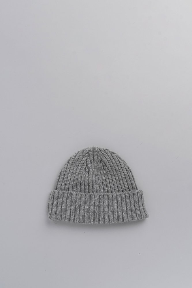 KIJIMA TAKAYUKI Cashmere Knit Watch Cap (Gray)