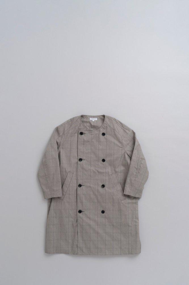 Ordinary fits ♀GRANMA COAT (Glen Check)