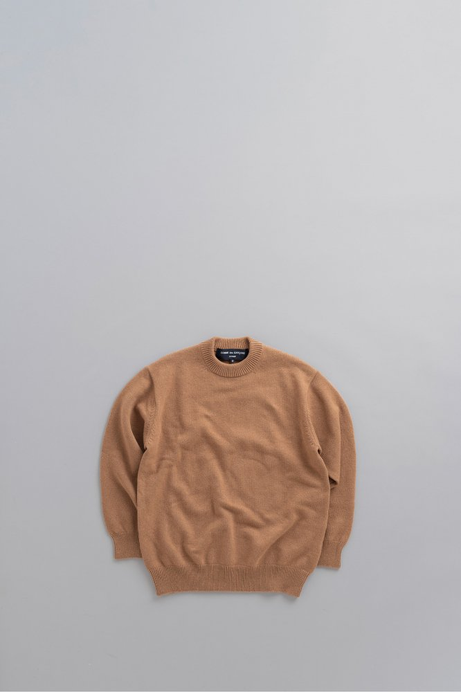 COMME des GARCONS HOMME Lamb Wool Wide Pullover