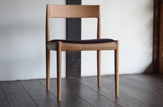4110 chair - Kai Kristiansen<br />b.cherry purple