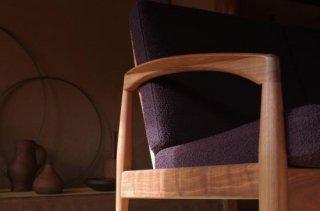 Paper Knife Sofa 3s - Kai Kristiansen<br />walnut