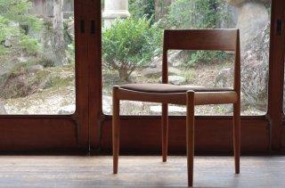 UNI-Senior / 4110 chair - Kai Kristiansen<br />b.cherry darkbrown