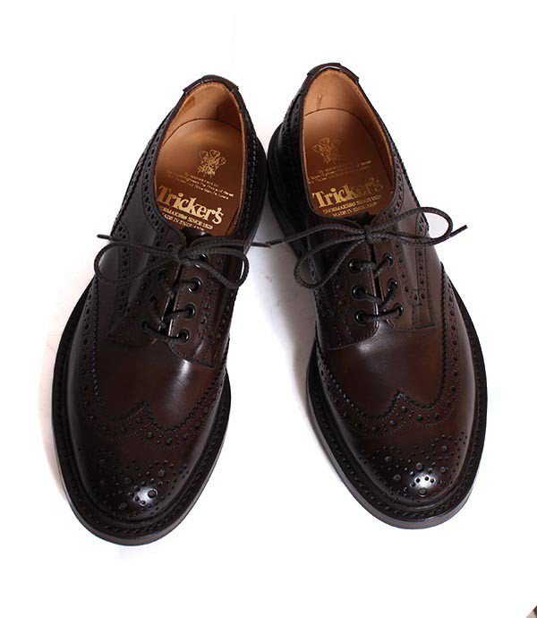 M5633 Tricker's/トリッカーズ バートン カントリーシューズ スムースレザー ダークブラウン<img class='new_mark_img2' src='//img.shop-pro.jp/img/new/icons25.gif' style='border:none;display:inline;margin:0px;padding:0px;width:auto;' />