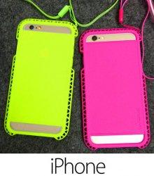 iPhone6plus/6/5s/5 ケース・カバー おしゃれ ソフト スポーティー ビビッド ビタミン カラフル 個性的