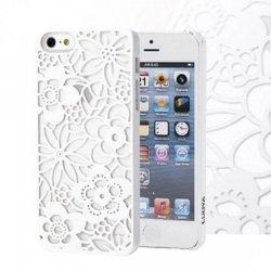 01a2508421 iPhone5s 5 ケース・カバー 彫り柄調 フラワー花柄 大人 かわいい アイフォン5s