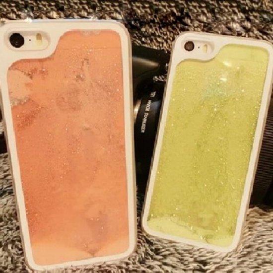 iPhone5s/5 ケース・カバー ウォーター おしゃれ スノードーム ラメ キラキラ ファンタジー パウダースノー