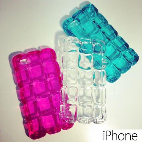 iPhone6plus/6/5s/5 ケース・カバー おしゃれ キラキラ 夏 アイスブロック 涼しい 可愛い 人気 ストラップ