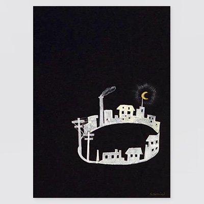 まりの・るうにいポストカード「ツァラの住んでいた街」