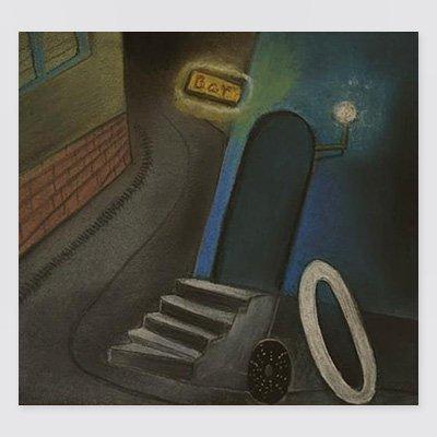 まりの・るうにいポストカード「土星酒場」