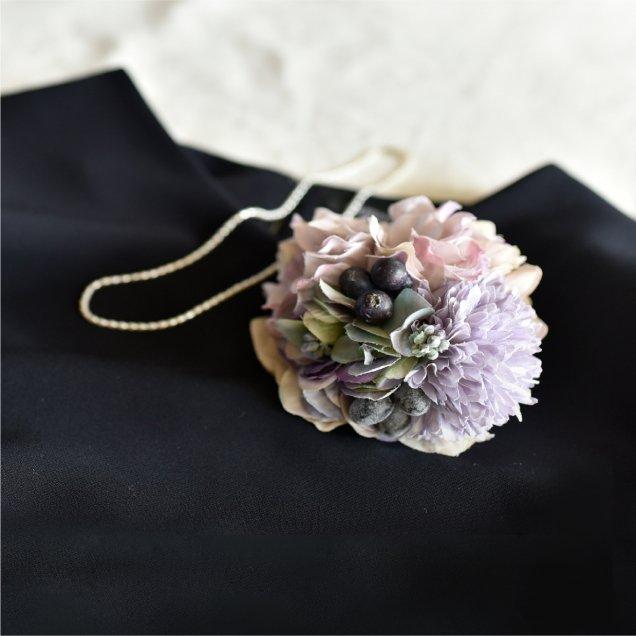 花束コサージュ大小セット