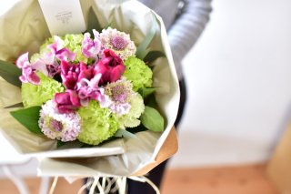 春のお花でブーケをつくるワークショップ【2019/3/26(火)開催】