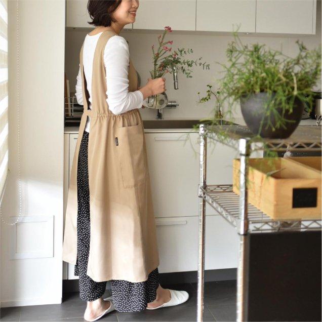 【4/24(水)12時半〜発売】シワになりにくいエプロン