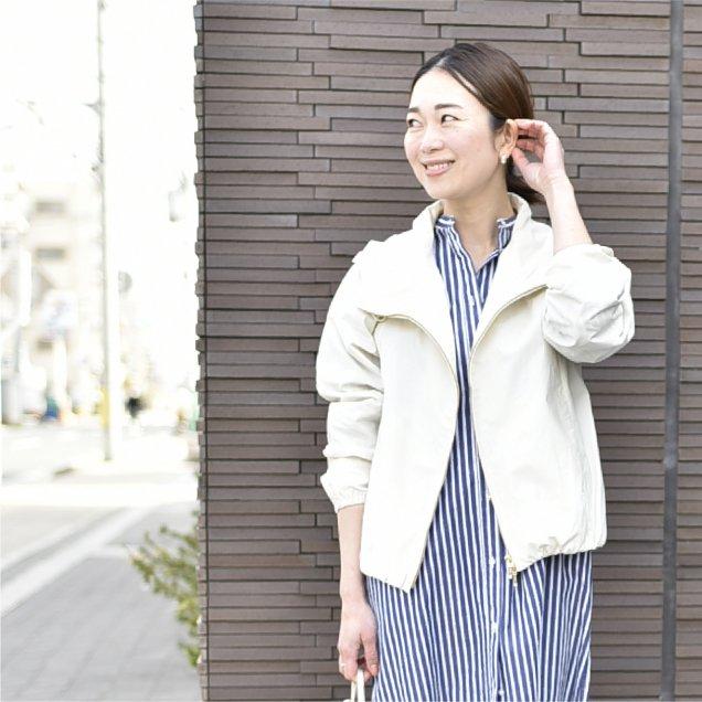 【秋ごろ再販予定】ダブルファスナーの綺麗めブルゾン