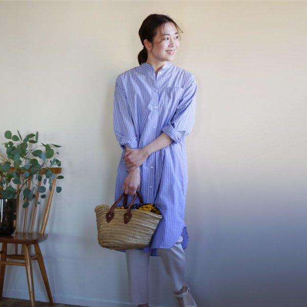 【4/20(火)12時半〜発売】播州織のベーシックシャツ