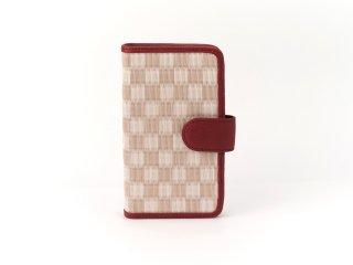 携帯ケース/吉野桜(赤)