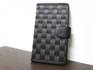 携帯ケース(Plus)/かぎろひ(黒)